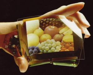 Flexible OLED screen (by Pioneer, not Kodak
