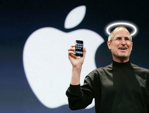 Angelic Steve Jobs