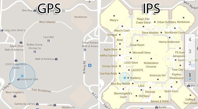 GPS vs. IPS