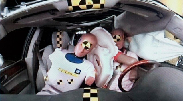 GM airbag dummies