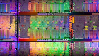 Intel Sandy Bridge CPU die shot