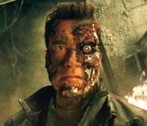 Terminator: Future versions of Google Glass may or may not look like this