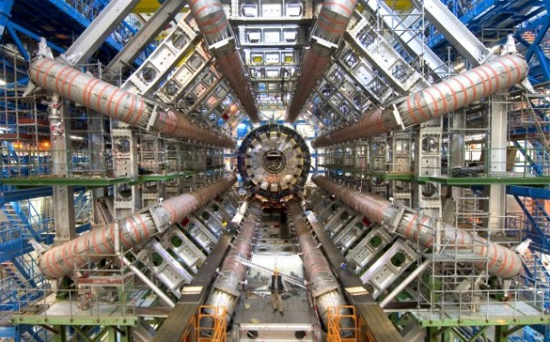 CERN's Large Hadron Collider -- it's large