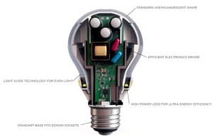 3M's first LED bulb uses TV tech to appeal to lighting