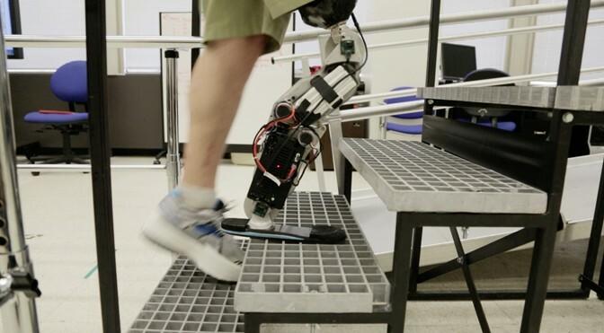 Bionic stair climb