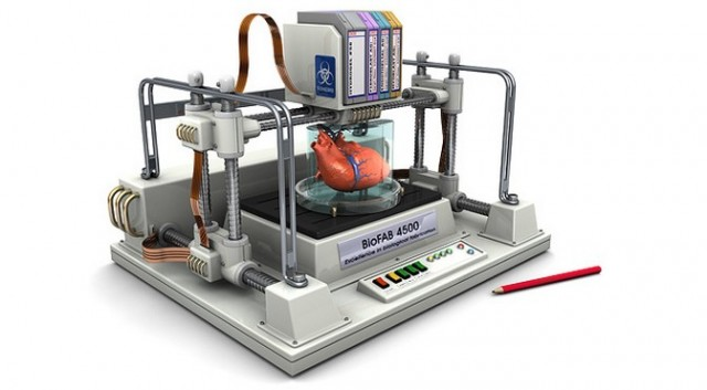 3D printing a heart