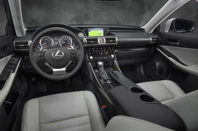 2014 Lexus IS cockpit