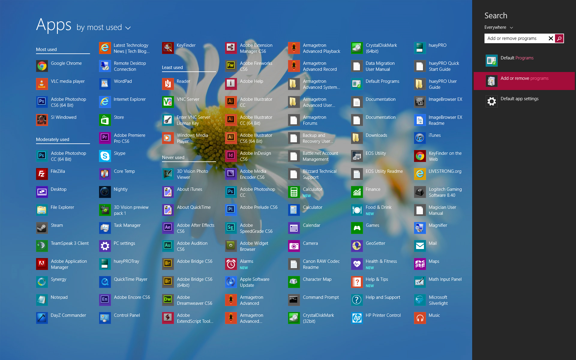 All Apps Screenshot