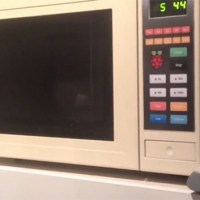 Developer Hacks Microwave with Raspberry Pi to Create AWESOMENESS!