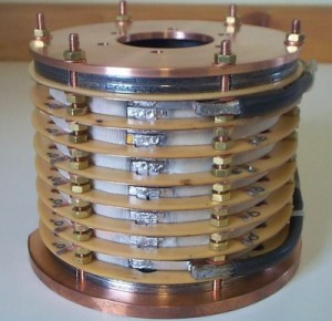 Powerful electromagnets use coils of superconducting cable to carry huge currents and create enormous magnetic fields.