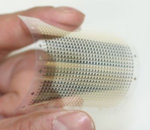 Flexible, organic NAND flash