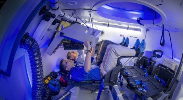Boeing unveils the future of manned spaceflight Its modern and very blue