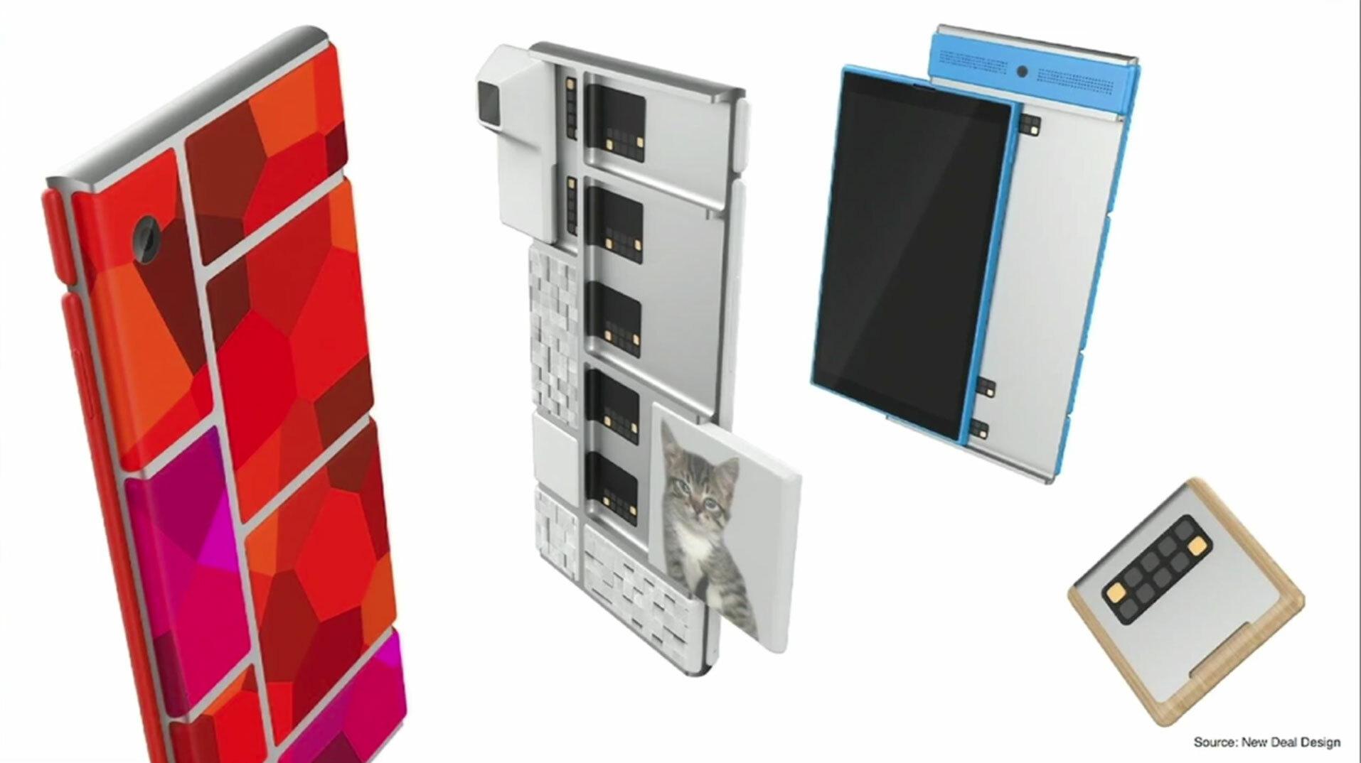 Project Ara, modular smartphone concept art