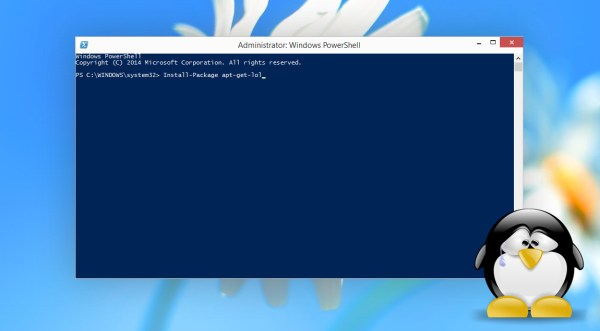 Windows 10 will come with a command line package manager ...