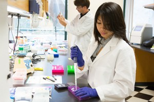 Scientists at Synthorx, where synthetic biology is being employed for drug discovery