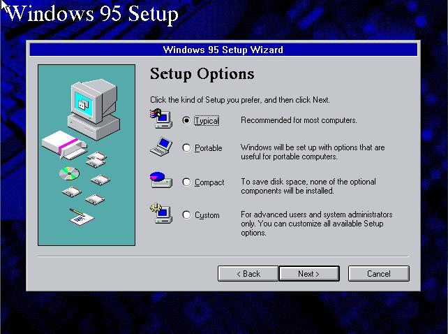 W95 Setup