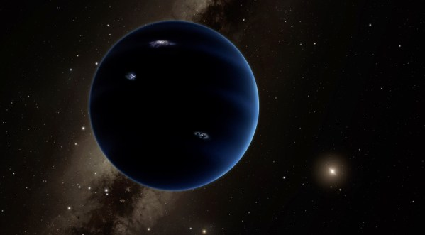 Our solar system may contain a ninth planet far beyond
