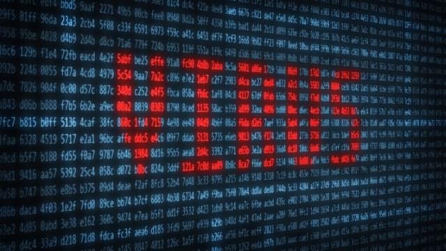 Virus ransomware malware