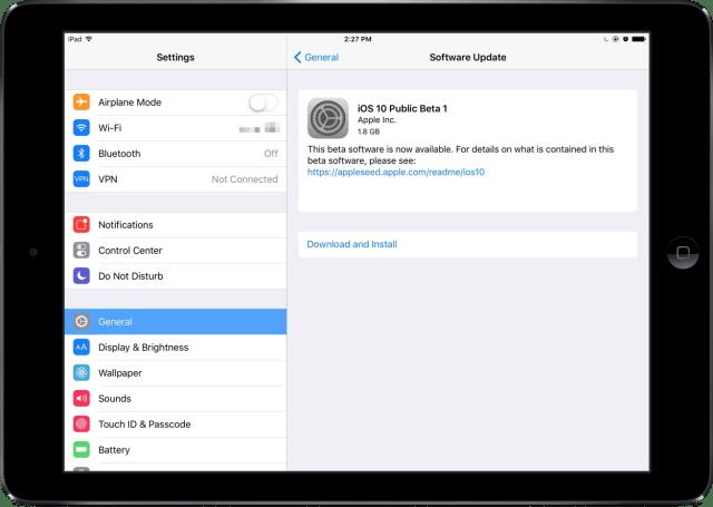 Download Beta OS