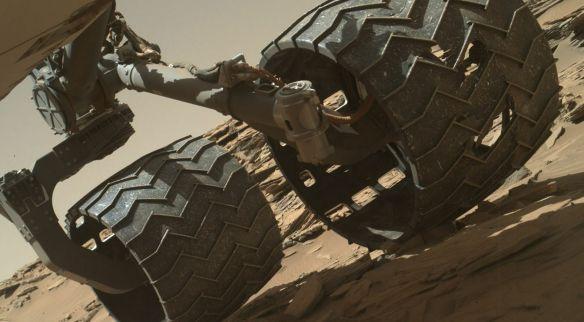 Mars Inspection Rover Wheels Curiosity