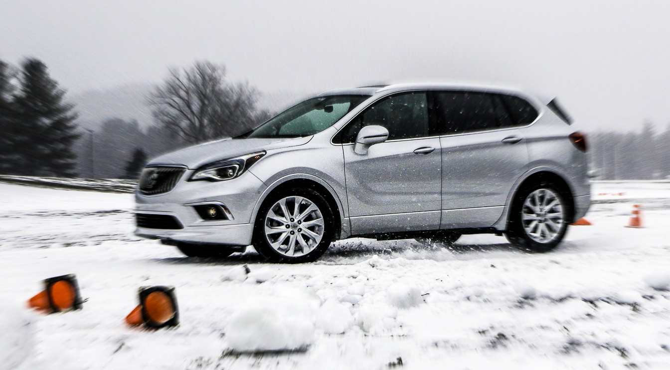 Buick Joins The Torque Vectoring Goes In The Snow All Wheel Drive Show Extremetech