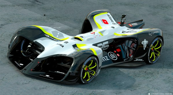 Roborace shows off its driverless race car at MWC ...