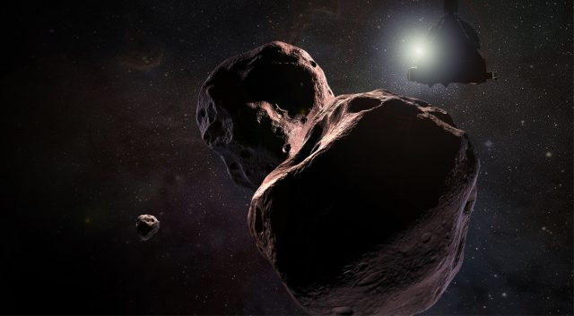 New Horizons Space Probe Target May Have Its Own Tiny Moonlet 1