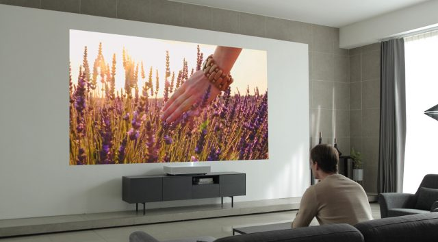 LG's New Laser Projector Works Just 2 Inches Away From Your Wall 1