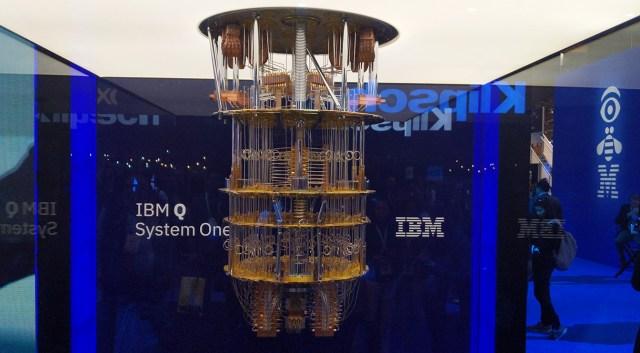 Дисплей IBM Q System One