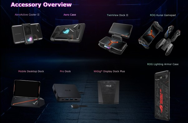Image result for asus rog phone 2 accessories