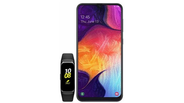 Pre-Order Samsung's Galaxy A50 Smartphone Now and Get A Free Galaxy Fit 1