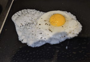 Cinder is great for controlled cooking like frying eggs