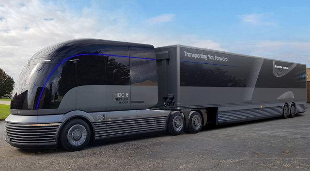 Hyundai Makes the Case for Fuel Cell Trucks With Gorgeous HDC-6 Neptune 1