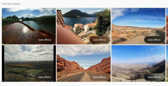 Moments has an Auto-enhance feature similar to Google's Assistant that picks out what it considers some of your best images and proposes an automated color enhancement