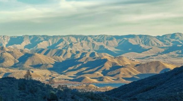 View from Sequoia National Forest on the drive to Las Vegas-1