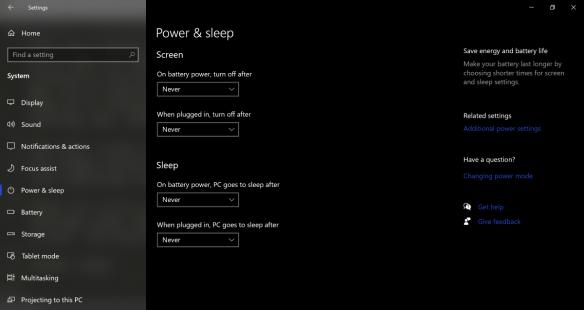 Power-And-Sleep