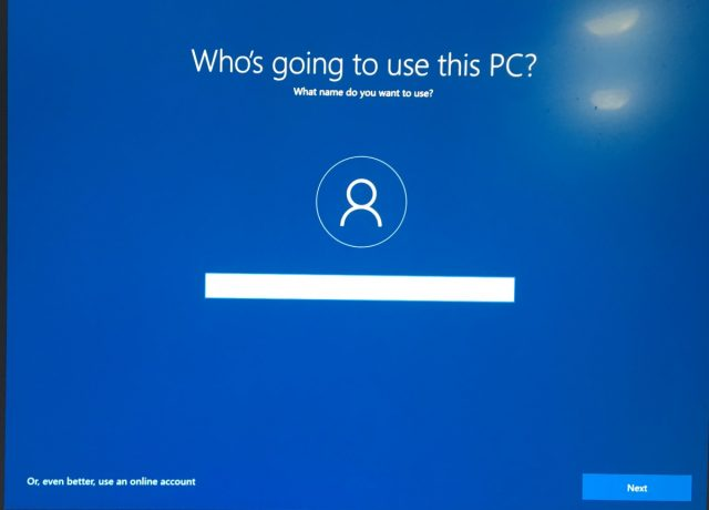 How to Create a Local Windows 10 Account 6