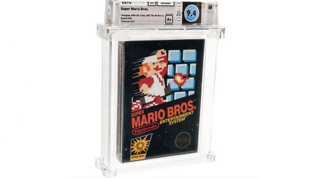 Super Mario Bros. Copy Sells for Record-Setting $114,000 1