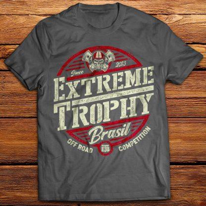 Camiseta de algodão, do extreme trophy brasil.