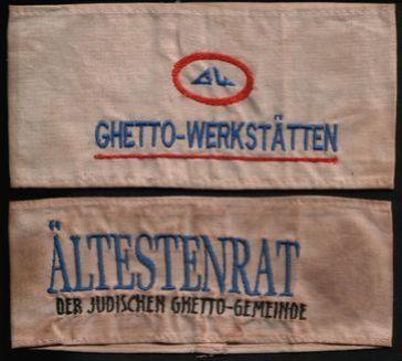 Armbinden aus einem jüdischen Ghetto