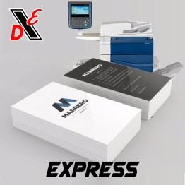 Tarjeta de presentacion Express