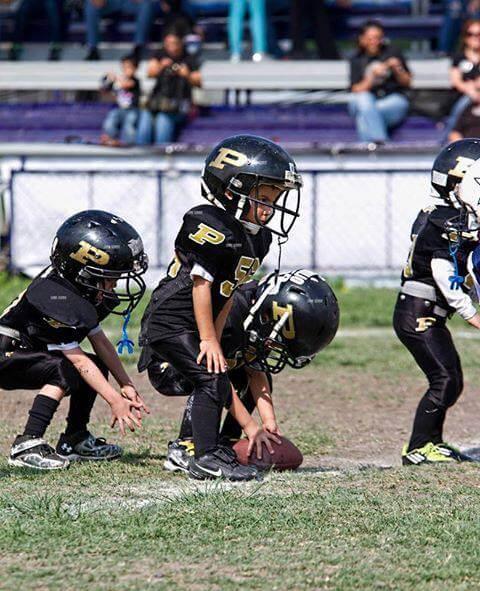 Resultado de imagen para niños futbol americano