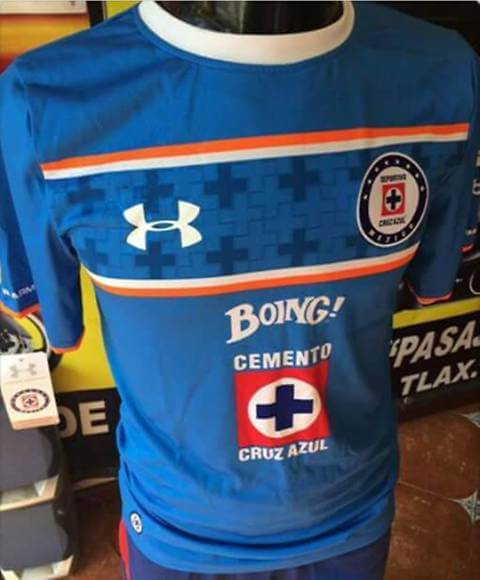 Cruz Azul playera