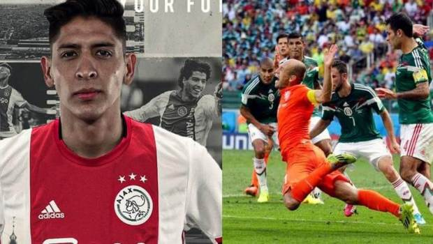 "El increíble spot de Ajax por Edson; le tiran ""pedrada"" a Robben"