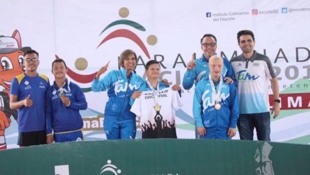 11 medallas más para Tamaulipas en Paralimpiada