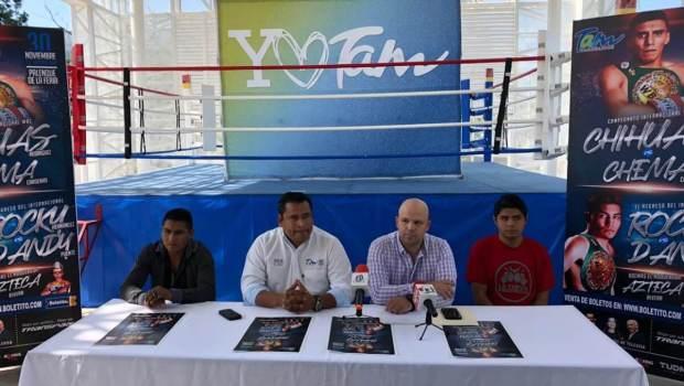 Sábados de Box trae peleas de campeonato a Victoria