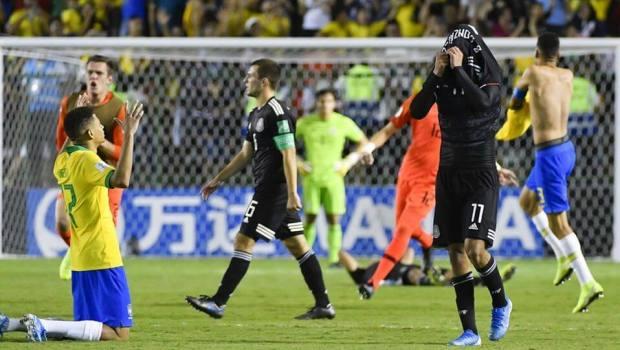 ¡Fue cruel! México estuvo a 10 minutos de ser campeón pero Brasil le dio la vuelta