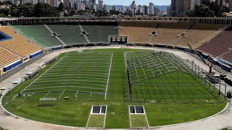 Harán hospital en el Estadio Sao Paulo por coronavirus