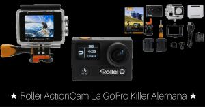 Rollei Actioncam ★ La GoPro Killer Alemana ★