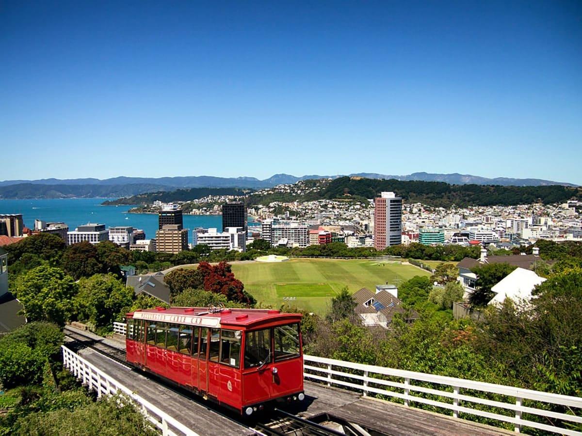 estudiar en el exterior - Wellington Cable Car